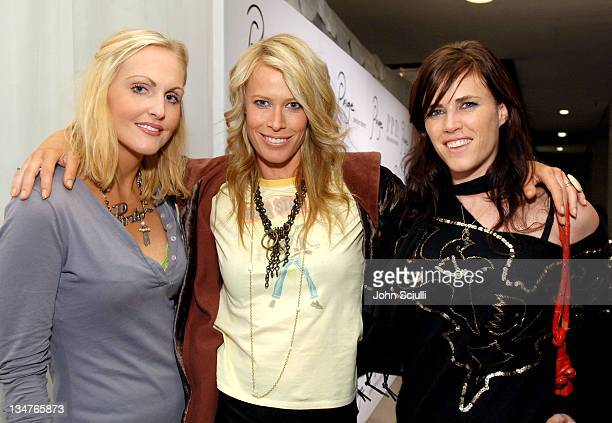 Meghan Fabulous Lesa Amoore and Mollie Culligan during Paige Premium Denim Party Red Carpet and Inside at Paige Premium Denim Flagship Store in...