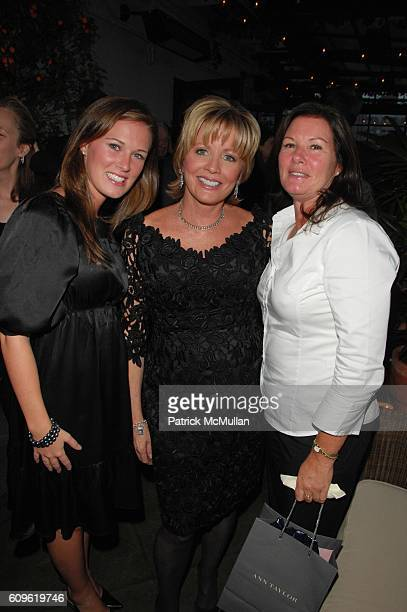 Meghan Johnson Chris Madden and Nora Johnson attend CHRIS MADDEN celebrates the 30th anniversary of CHRIS MADDEN INC at Gramercy Park Hotel Rooftop...