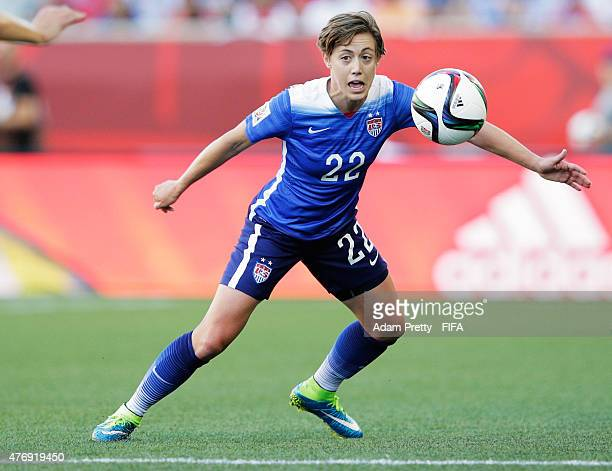 Meghan Klingenberg of United States of America in actio during the Group D match between United States of America and Sweden of the FIFA Women's...