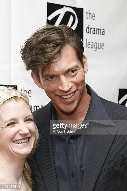 Meghan Lawrence and Harry Connick Jr during 72nd Annual Drama League Awards Ceremony and Luncheon at Marriott Marquis Hotel in New York NY United...