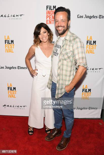 Meghan Lennox attends the 'Izzy Gets The Fuck Across Town' and 'Ok Call Me Back' Premieres during the 2017 Los Angeles Film Festival at Arclight...