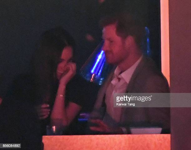 Meghan Markle and Prince Harry are seen on day 8 of the Invictus Games Toronto 2017 on September 30 2017 in Toronto Canada The Games use the power of...