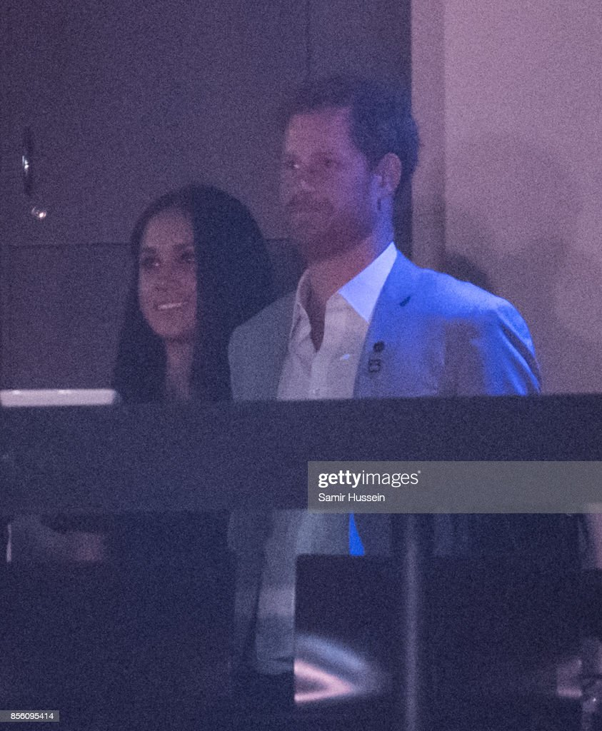Meghan Markle and Prince Harry attend the Closing Ceremony on day 8 of the Invictus Games Toronto 2017 on September 30, 2017 in Toronto, Canada. The Games use the power of sport to inspire recovery, support rehabilitation and generate a wider understanding and respect for the Armed Forces.