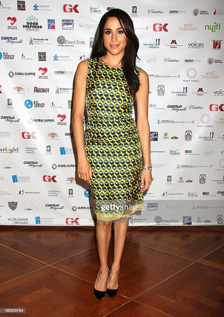 <a gi-track='captionPersonalityLinkClicked' href=/galleries/search?phrase=Meghan+Markle&family=editorial&specificpeople=5940094 ng-click='$event.stopPropagation()'>Meghan Markle</a> attends Cantor Fitzgerald And BGC Partners Annual Charity Day at Cantor Fitzgerald on September 11, 2013 in New York City.