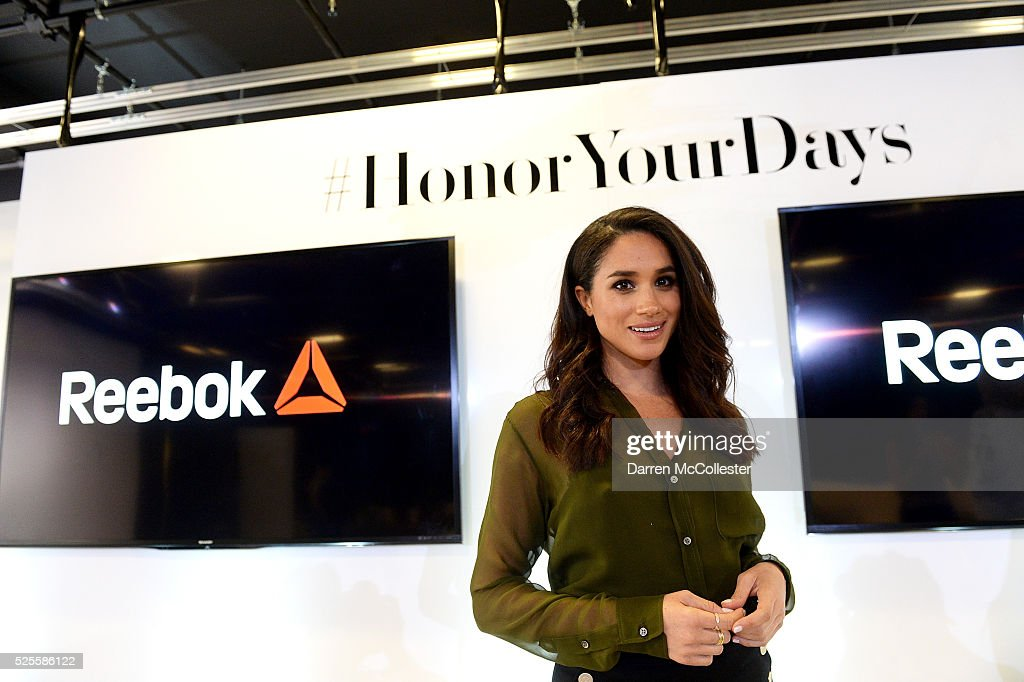 <a gi-track='captionPersonalityLinkClicked' href=/galleries/search?phrase=Meghan+Markle&family=editorial&specificpeople=5940094 ng-click='$event.stopPropagation()'>Meghan Markle</a> at REEBOK Women's '25,915' Luncheon, at Reebok Headquarters on April 28, 2016 in Canton, Massachusetts.