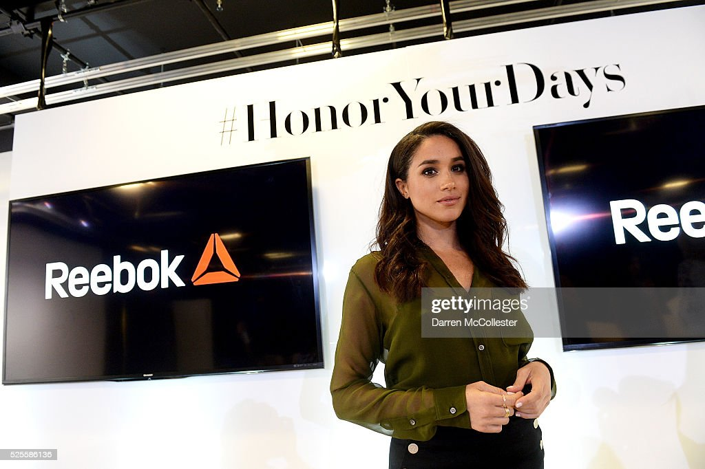 Meghan Markle attends REEBOK #HonorYourDays at Reebok Headquarters on April 28, 2016 in Canton, Massachusetts.
