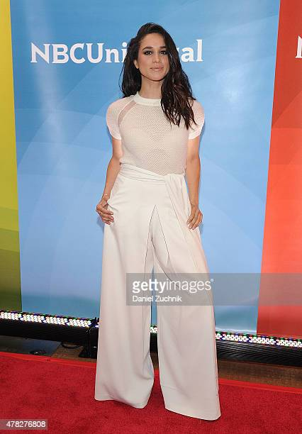 Meghan Markle attends the 2015 NBC New York Summer Press Day at Four Seasons Hotel New York on June 24 2015 in New York City