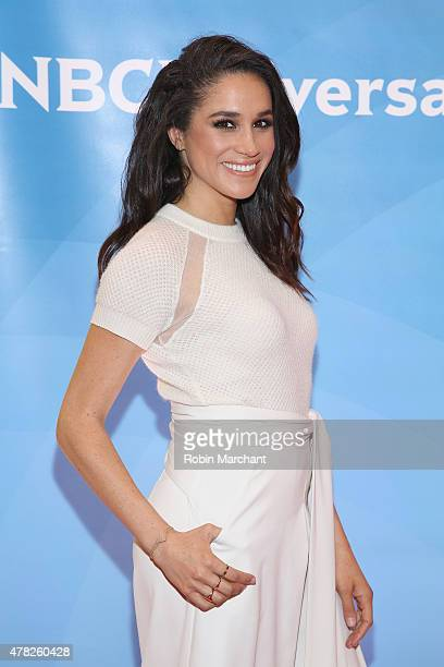 Meghan Markle attends the NBC's 2015 New York Summer Press Day at Four Seasons Hotel New York on June 24 2015 in New York City