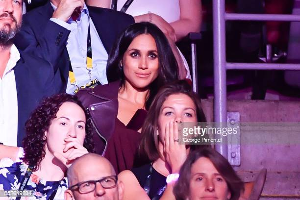 Meghan Markle attends the opening ceremony of Invictus Games Toronto 2017 at Air Canada Centre on September 23 2017 in Toronto Canada