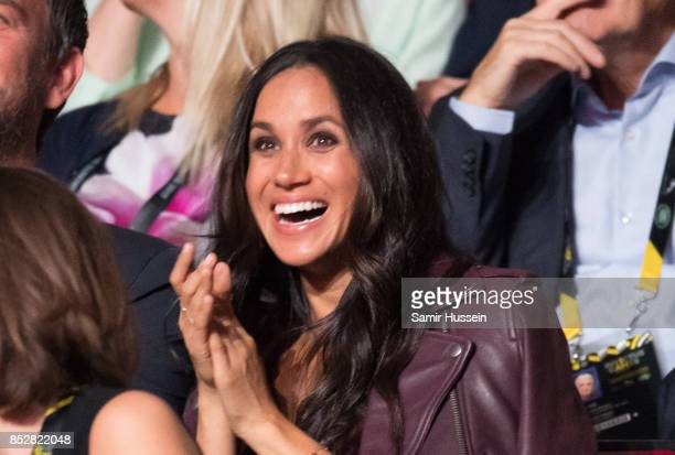 Meghan Markle attends the opening ceremony on day 1 of the Invictus Games Toronto 2017 on September 23 2017 in Toronto Canada The Games use the power...