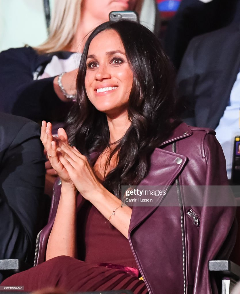 Meghan Markle attends the opening ceremony on day 1 of the Invictus Games Toronto 2017 on September 23, 2017 in Toronto, Canada. The Games use the power of sport to inspire recovery, support rehabilitation and generate a wider understanding and respect for the Armed Forces.