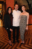 Meghan Markle chef Daniel Humm and Elettra Rossellini Weidemann attend RELAIS CHATEAUX 60th Anniversary Guest Chef Dinner Launch at Consulate General...