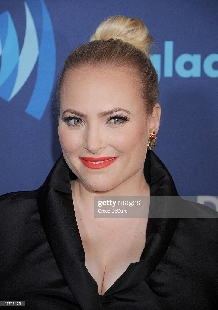 <a gi-track='captionPersonalityLinkClicked' href=/galleries/search?phrase=Meghan+McCain&family=editorial&specificpeople=1045063 ng-click='$event.stopPropagation()'>Meghan McCain</a> arrives at the 26th Annual GLAAD Media Awards at The Beverly Hilton Hotel on March 21, 2015 in Beverly Hills, California.