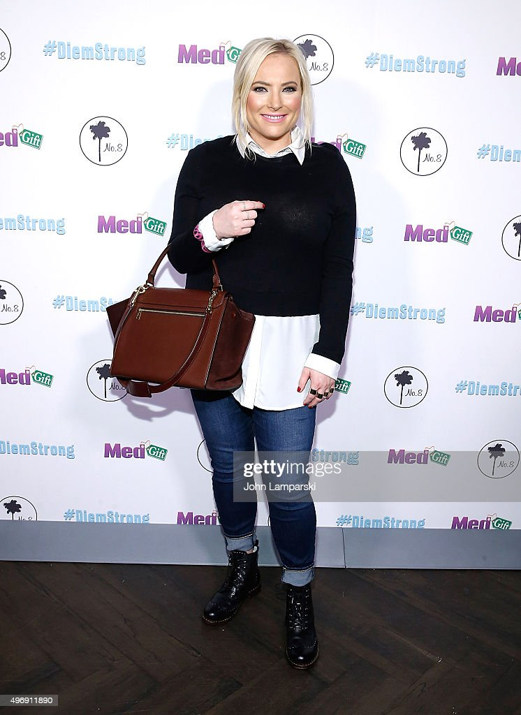 <a gi-track='captionPersonalityLinkClicked' href=/galleries/search?phrase=Meghan+McCain&family=editorial&specificpeople=1045063 ng-click='$event.stopPropagation()'>Meghan McCain</a> attends #Diemstrong at No. 8 on November 12, 2015 in New York City.
