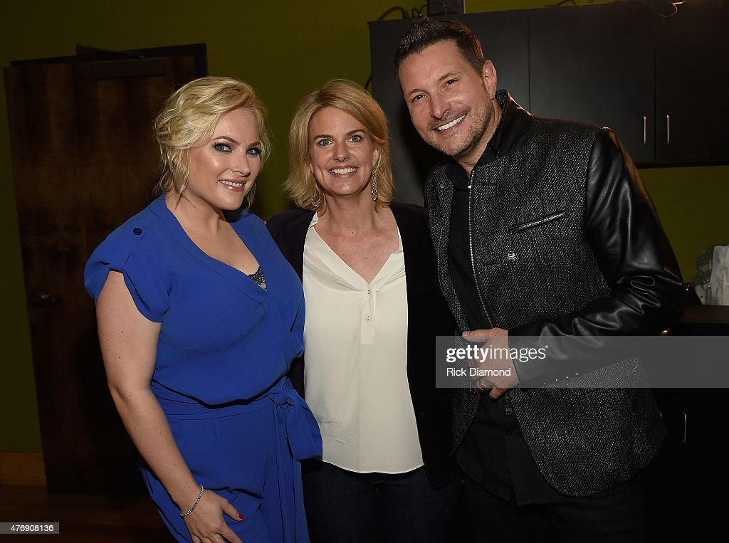 Meghan McCain, President & CEO of GLAAD Sarah Kate and Ty Herndon attend The Concert For Love And Acceptance at City Winery Nashville on June 12, 2015 in Nashville, Tennessee.