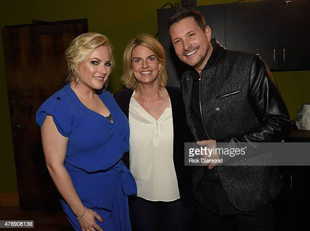 Meghan McCain President CEO of GLAAD Sarah Kate and Ty Herndon attend The Concert For Love And Acceptance at City Winery Nashville on June 12 2015 in...