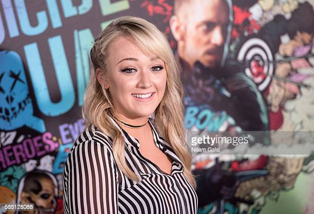 Meghan McCarthy attends the world premiere of 'Suicide Squad' at The Beacon Theatre on August 1 2016 in New York City
