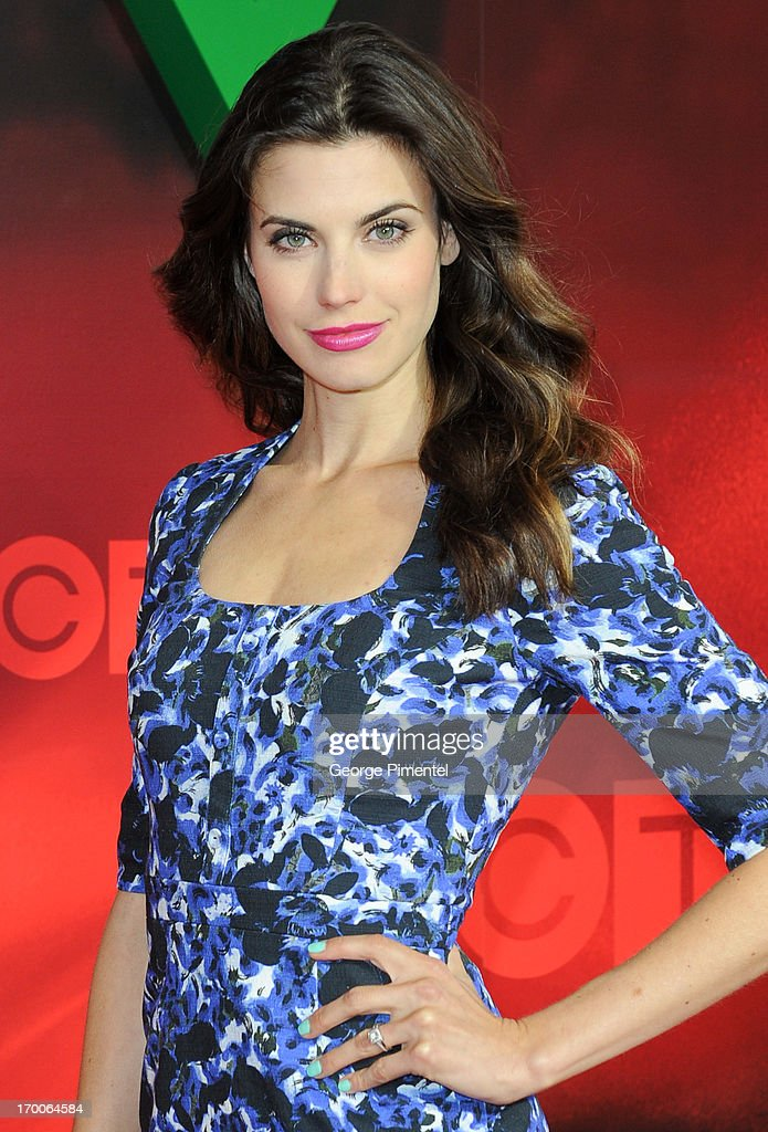Meghan Ory from 'Intelligence' attends CTV Upfront 2013 Presentation at Sony Centre For Performing Arts on June 6, 2013 in Toronto, Canada.
