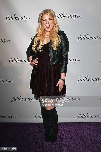 Meghan Trainor attends FULLBEAUTY Brands' launch of fullbeautycom and Fullbeauty Magazine on April 2 2015 in New York City