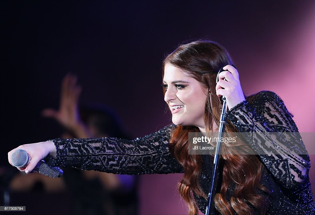 Meghan Trainor performs on stage during the CBS RADIO's We Can Survive show on October 22, 2016 in Hollywood, California.