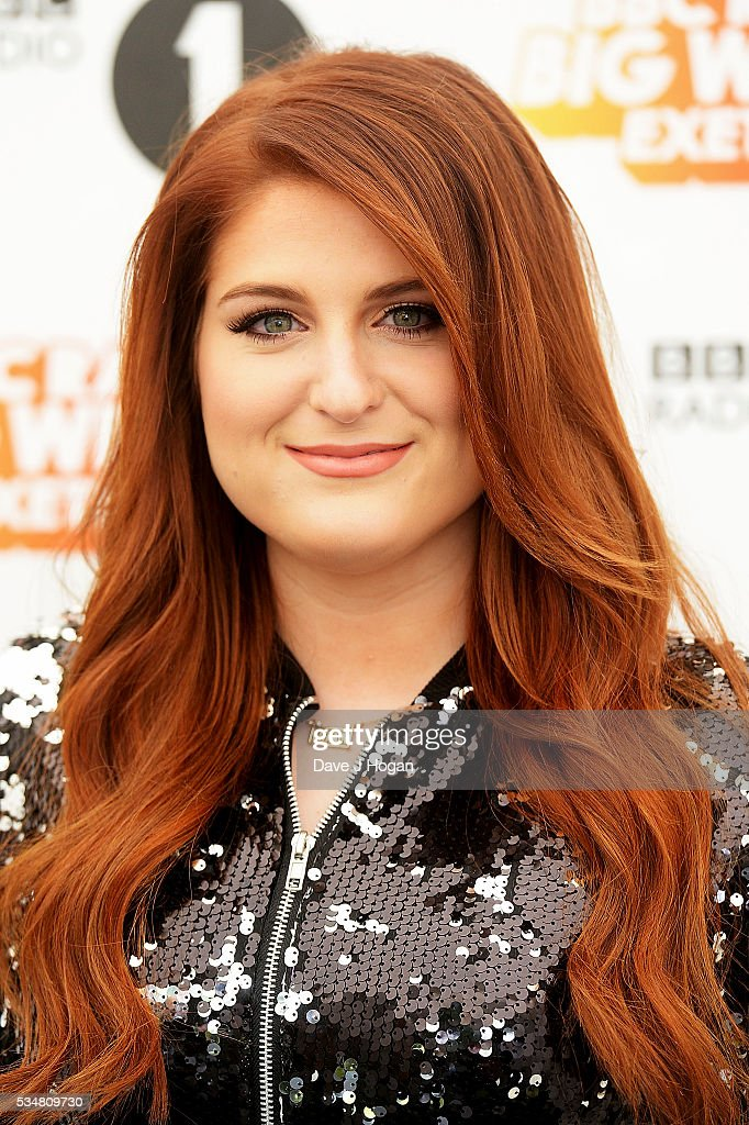 <a gi-track='captionPersonalityLinkClicked' href=/galleries/search?phrase=Meghan+Trainor&family=editorial&specificpeople=13471920 ng-click='$event.stopPropagation()'>Meghan Trainor</a> poses for a photo during day 1 of BBC Radio 1's Big Weekend at Powderham Castle on May 28, 2016 in Exeter, England.