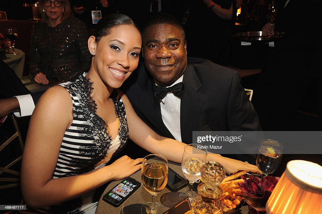 Meghan Wollover and Tracy Morgan attend Spike TV's 'Don Rickles One Night Only' on May 6 2014 in New York City