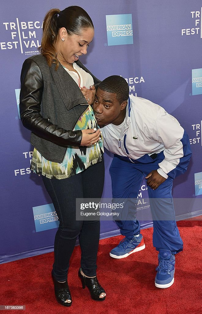 Meghan Wollover, <a gi-track='captionPersonalityLinkClicked' href=/galleries/search?phrase=Tracy+Morgan&family=editorial&specificpeople=182428 ng-click='$event.stopPropagation()'>Tracy Morgan</a> attends Tribeca Talks: After the Movie: 'Battle of amFAR' during the 2013 Tribeca Film Festival at SVA Theater on April 24, 2013 in New York City.