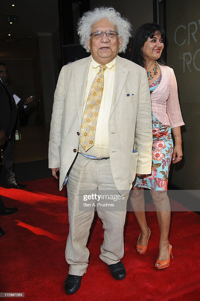 Meghnad Desai attends the gala screening of 'Bhaag Milkha Bhaag' at The Mayfair Hotel on July 5, 2013 in London, England.