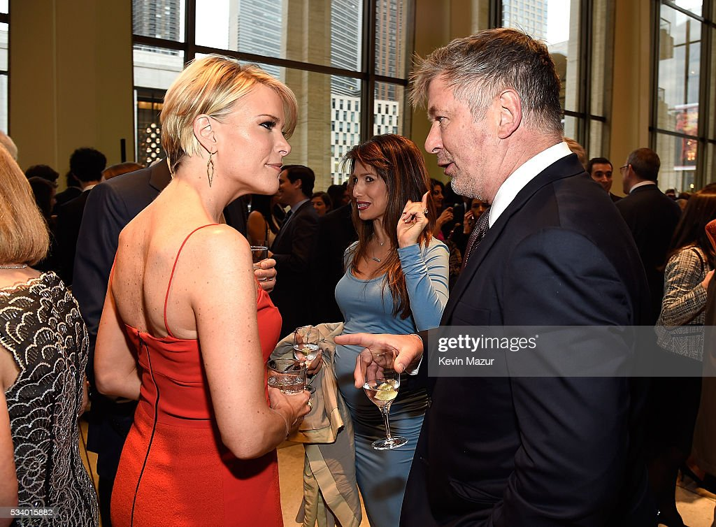 Megyn Kelly and Alec Baldwin attend New York Philharmonic's Spring Gala, A John Williams Celebration at David Geffen Hall on May 24, 2016 in New York City.