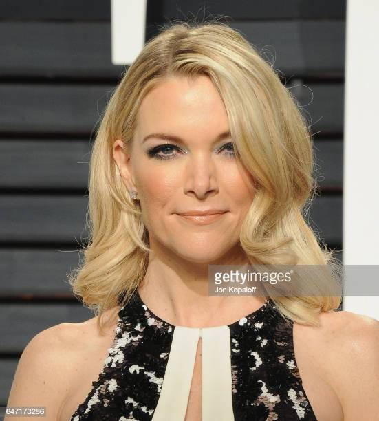 Megyn Kelly arrives at the 2017 Vanity Fair Oscar Party Hosted By Graydon Carter at Wallis Annenberg Center for the Performing Arts on February 26...