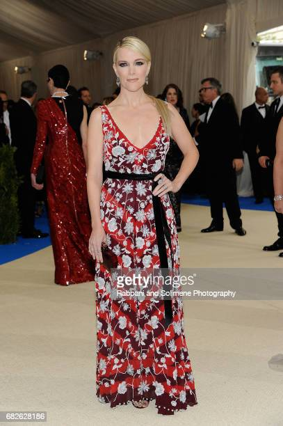 Megyn Kelly attends 'Rei Kawakubo/Comme des Garcons Art Of The InBetween' Costume Institute Gala Arrivals at Metropolitan Museum of Art on May 1 2017...