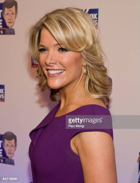 Megyn Kelly attends salute to Brit Hume at Cafe Milano on January 8 2009 in Washington DC