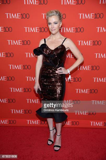 Megyn Kelly attends the 2017 Time 100 Gala at Jazz at Lincoln Center on April 25 2017 in New York City