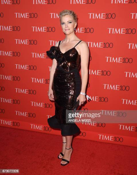 Megyn Kelly attends the 2017 Time 100 Gala at Jazz at Lincoln Center on April 25 2017 in New York City / AFP PHOTO / ANGELA WEISS