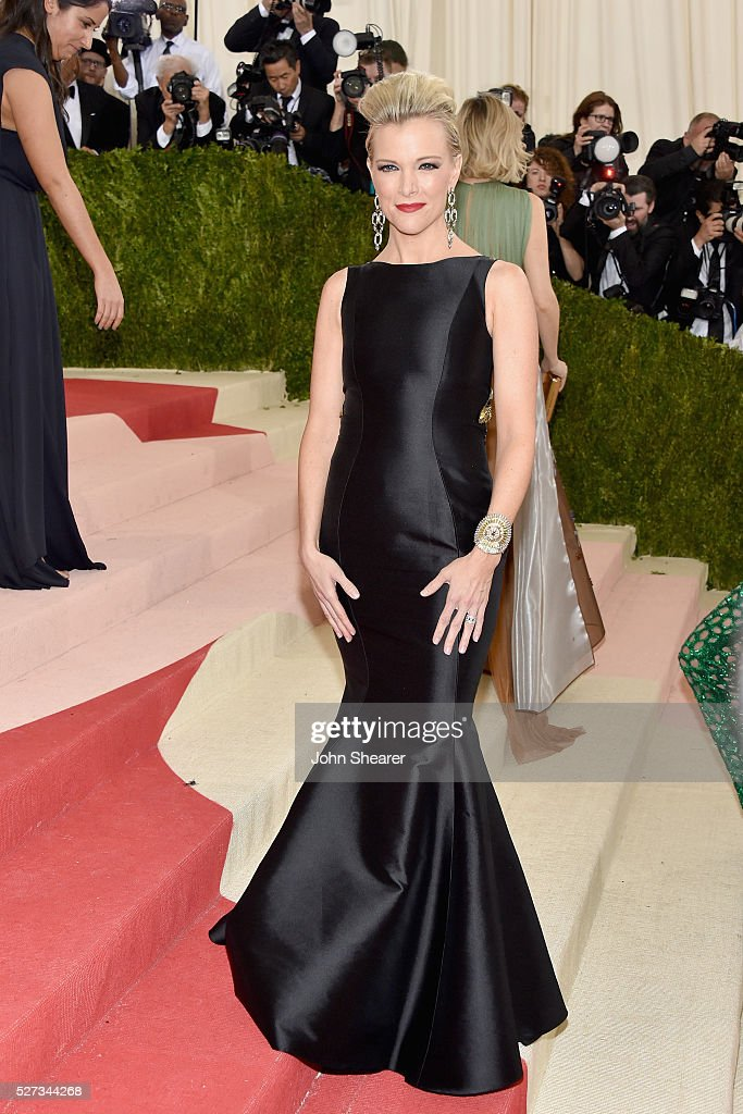Megyn Kelly attends the 'Manus x Machina: Fashion In An Age Of Technology' Costume Institute Gala at Metropolitan Museum of Art on May 2, 2016 in New York City.