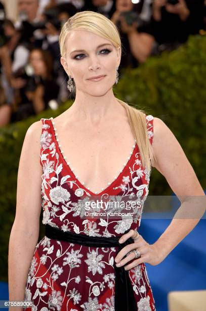 Megyn Kelly attends the 'Rei Kawakubo/Comme des Garcons Art Of The InBetween' Costume Institute Gala at Metropolitan Museum of Art on May 1 2017 in...