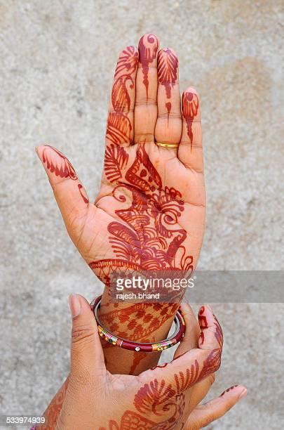 Mehandi or henna design