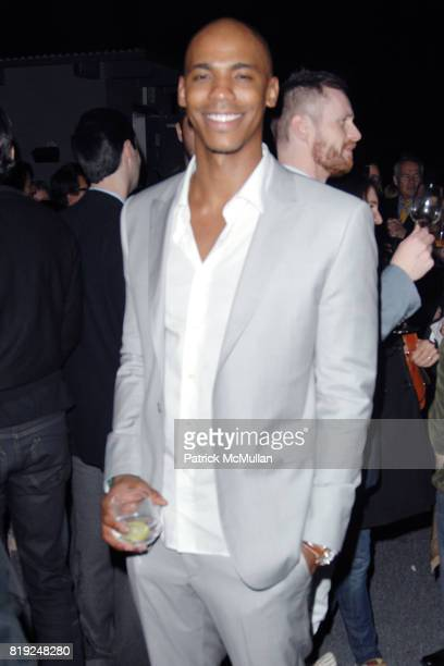 Mehcad Brooks attends CALVIN KLEIN COLLECTION LOS ANGELES NOMADIC DIVISION CELEBRATE LA ARTS MONTH ART LOS ANGELES CONTEMPORARY at Los Angeles on...
