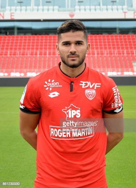 Mehdi ABEID during photoshooting of Dijon FCO for new season 2017/2018 on September 11 2017 in Dijon France