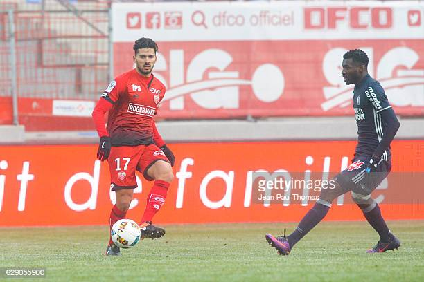 Mehdi ABEID of Dijon during the French Ligue 1 between Dijon and Marseille at Stade Gaston Gerard on December 10 2016 in Dijon France