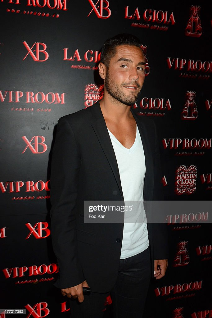 Mehdi Boureghda attends the ASAP Rocky Party at the VIP Room on August 21, 2013 in Saint Tropez, France.