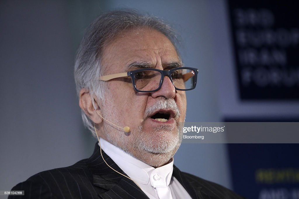 Mehdi Karbasian, chairman of the Iranian Mines and Mining Industries Development and Renovation Organization, also known as IMIDRO, speaks during the Europe-Iran Forum in Zurich, Switzerland, on Wednesday, May 4, 2016. The U.S., Russia and European countries in January lifted a series of economic sanctions in exchange for Iran's agreement to curb its nuclear activities. Photographer: Matthew Lloyd/Bloomberg via Getty Images