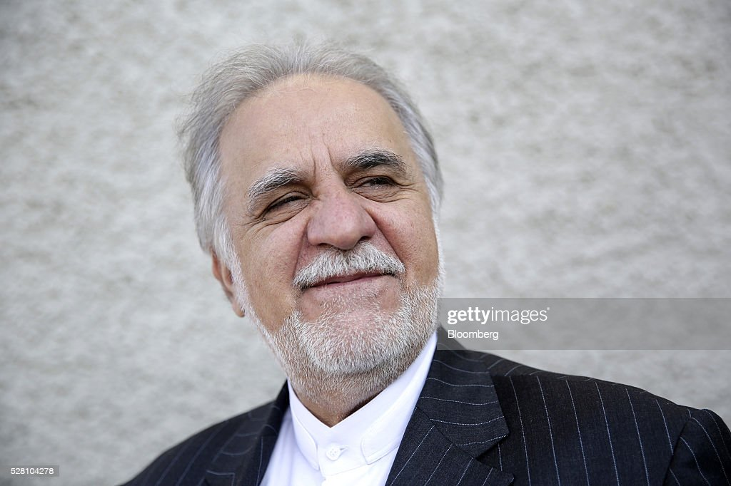 Mehdi Karbasian, chairman of the Iranian Mines and Mining Industries Development and Renovation Organization, also known as IMIDRO, poses for a photograph during the Europe-Iran Forum in Zurich, Switzerland, on Wednesday, May 4, 2016. The U.S., Russia and European countries in January lifted a series of economic sanctions in exchange for Iran's agreement to curb its nuclear activities. Photographer: Matthew Lloyd/Bloomberg via Getty Images