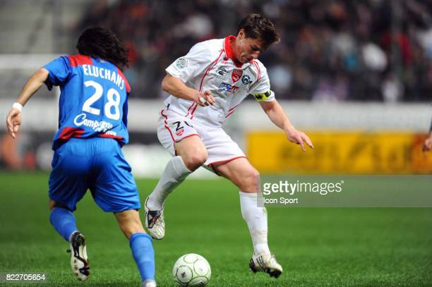 Mehdi MOSTEFA Caen / Nimes 33eme journee de Ligue 2 Stade Michel d'Ornano Caen
