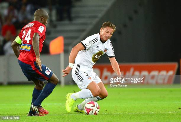 Mehdi MOSTEFA Lille / Lorient 3e journee Ligue 1 Photo Dave Winter / Icon Sport