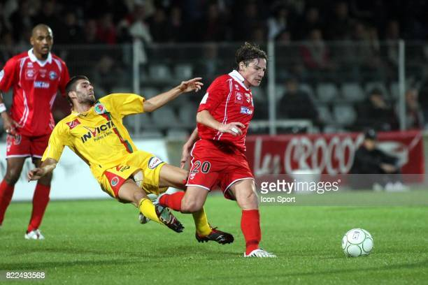 Mehdi MOSTEFA Nimes / Sedan 11eme journee de Ligue 2 Stade des Costieres