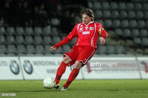 Mehdi MOSTEFA Nimes / Nantes 26eme journee de Ligue 2 2009/2010