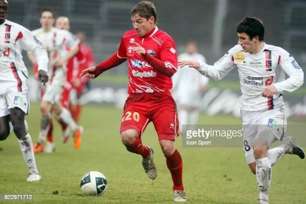 Mehdi MOSTEFA / Maxime COLIN Nimes / Boulogne 21e journee de Ligue 2