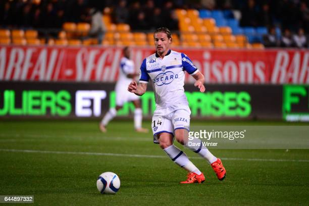 Mehdi MOSTEFA SBAA Troyes / Bastia 18eme journee de Ligue 1 Photo Dave Winter / Icon Sport