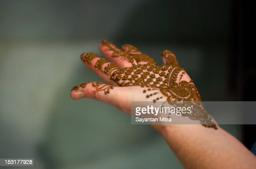 Mehendi : Stock Photo